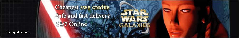 SWG Credits,Star Wars Galaxies Credits,Star Wars Galaxies Gold,Star